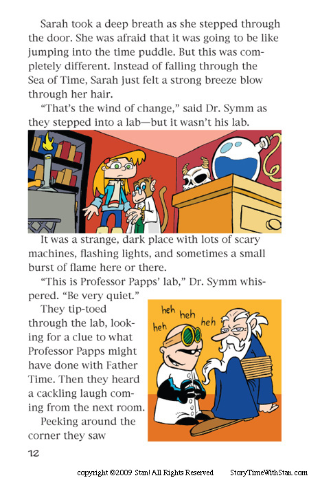 Dr. Symm Saves the New Year – page 12