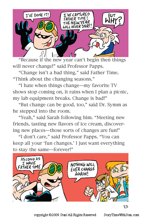 Dr. Symm Saves the New Year – page 13