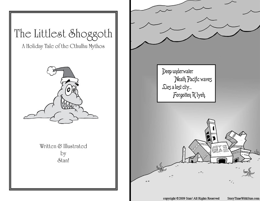 The Littlest Shoggoth – page 1